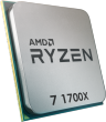 Ryzen 7 1700X 3.4GHz 95W 8C/16T 16MB Cache AM4 CPU