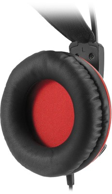 100mm polyurethane-coated leather ear cushions