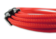 Red Braided 6+2-pin PCIe Extension Cable