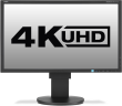 EA244UHD 4K 24in IPS Monitor 350cd/m 3840x2160 5ms 2xHDMI/2xDP/2xDVI