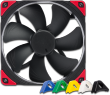 NF-A14 PWM CHROMAX 12V 1500RPM 140mm Premium Quality Fan