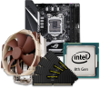 Quiet PC Intel 9th Gen CPU and mini-ITX Motherboard Bundle
