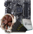 AMD CPU and micro-ATX Motherboard Bundle