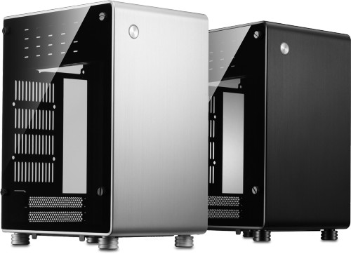 The NanoQube is available in a silver or black chassis